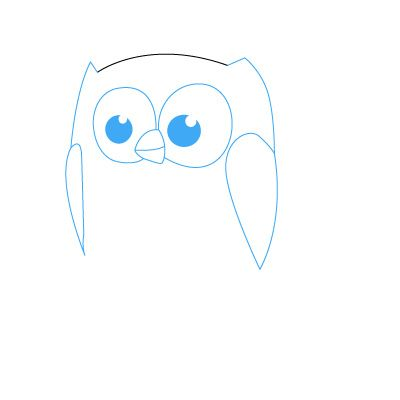 Как просто рисовать сову