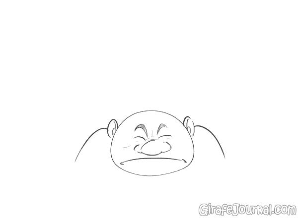 Нарисовать человека в движении поэтапно