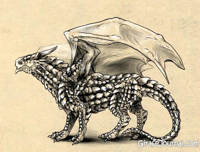 Как <i>поэтапно</i> правильно рисовать дракона?