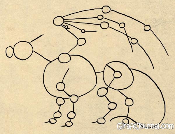 Как правильно рисовать дракона?