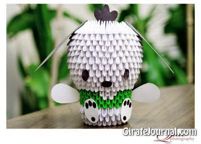 Как сделать единицы 3D Оригами? Видео инструкция