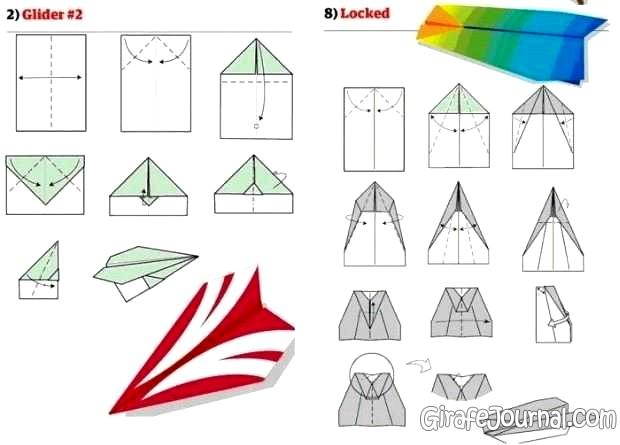 Как сделать самолёт из бумаги легко и просто