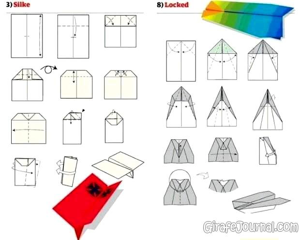 Как сделать самолёт из картона своими руками схемы
