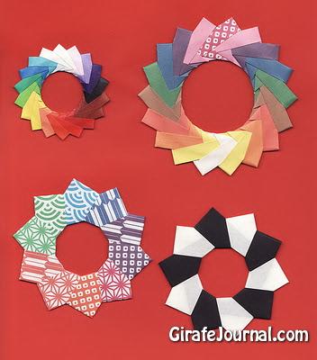 Как сделать оригами кольцо от метте? Видео инструкция