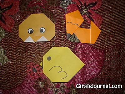 Легкое оригами для маленьких детей: видео инструкция