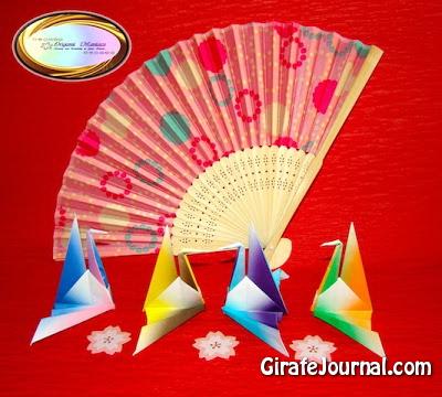 Оригами японское заседание-кран: видео инструкция