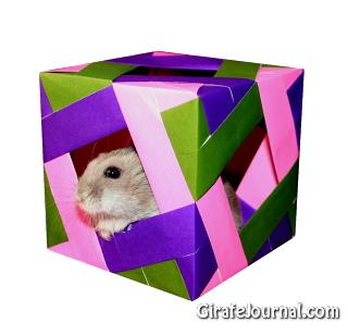Оригами куб: видео инструкция