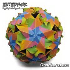 Оригами кусудама от Марии Вахрушевой: видео инструкция