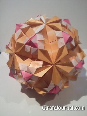 Оригами лепесток глобус: видео инструкция