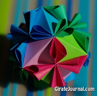 Оригами от кусудамы: видео инструкция