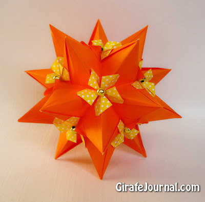 Оригами от Наталии Романенко: видео инструкция