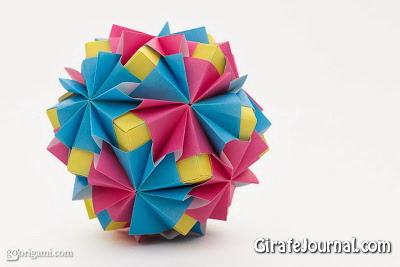 Оригами печать: видео инструкция