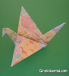 Оригами птица: видео инструкция