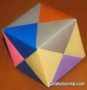 Оригами скорпион: видео инструкция