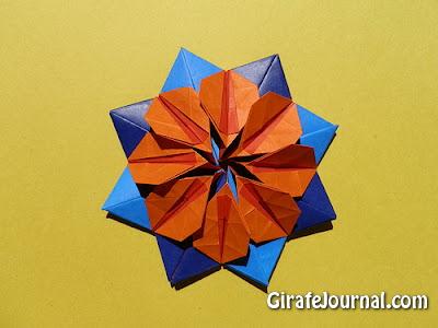 Оригами созвездие: видео инструкция