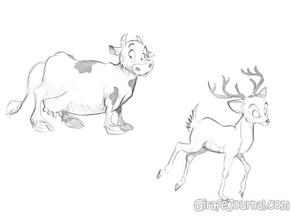 Как рисовать животных для