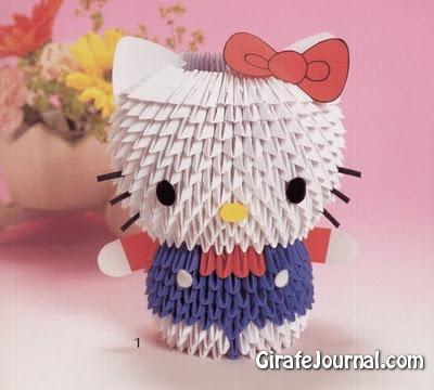 модульные оригами: видео