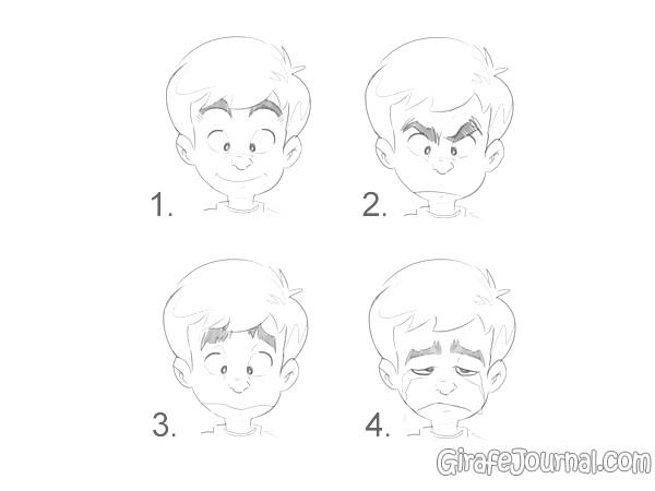Как рисовать эмоции?