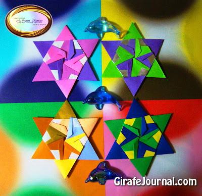 Звезды оригами в 3, 4 и 5 степени: видео инструкция