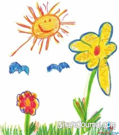 Детские рисунки на тему Весна и 8 марта ...: girafejournal.com/detyam/132-detskie-risunki-na-temu-vesna-i-8...