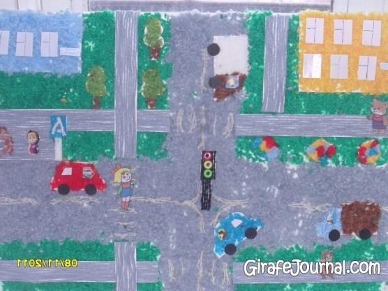 Рисунки детей на тему правила дорожного движения