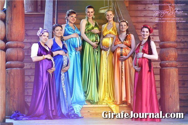 При беременности ставят