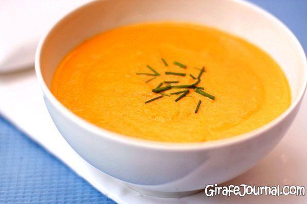 Овочевий суп-пюре з кролятиною