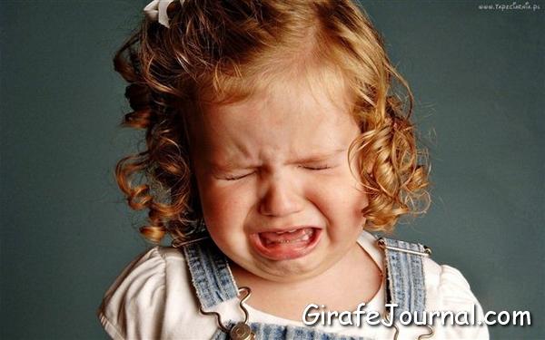 Дитячий плач, як заспокоїти дитину?