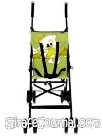 Прогулянкова коляска bertoni - мамі легко, маляті зручно