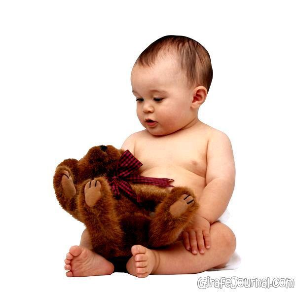 Волосяной покров новорожденного ребенка