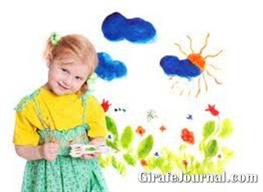 Как научить ребенка рисовать фото