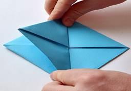 Оригами Кораблик рисунок 4