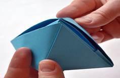 Оригами Кораблик рисунок 5