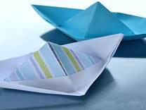 Оригами Кораблик рисунок 6