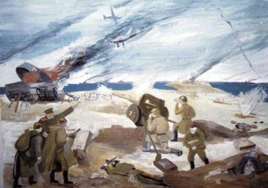 Детские рисунки на тему война