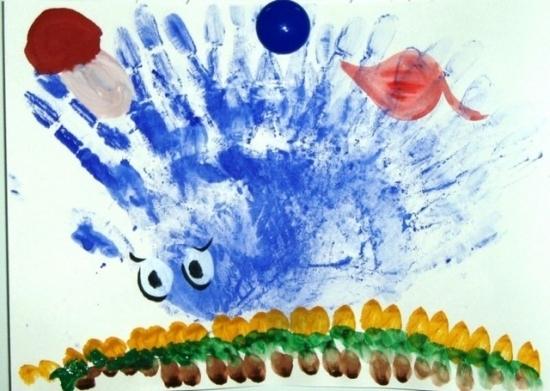 Разноцветные ладошки картинки рисунки
