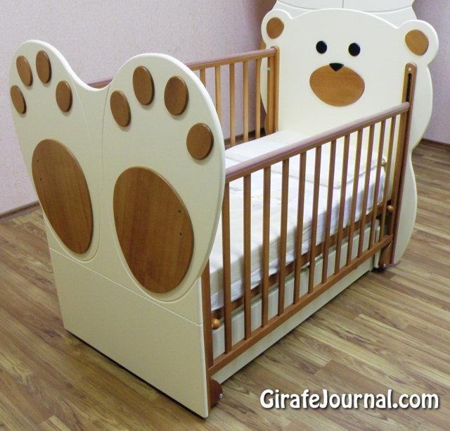 Детские кроватки своими руками для новорожденных фото