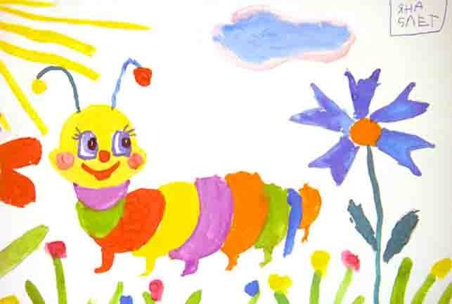 Детские рисунки - что да как?: girafejournal.com/36-detskie-risunki.html