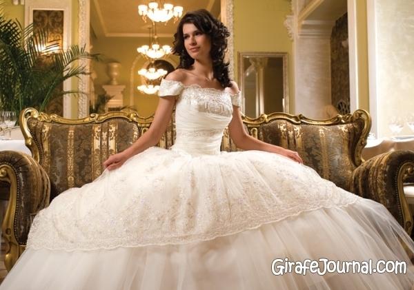 Очень красивое пышные свадебные платья