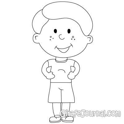 Как рисовать ребенка легче