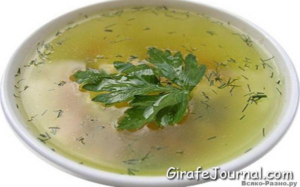 Суп для ребенка 7 месяцев