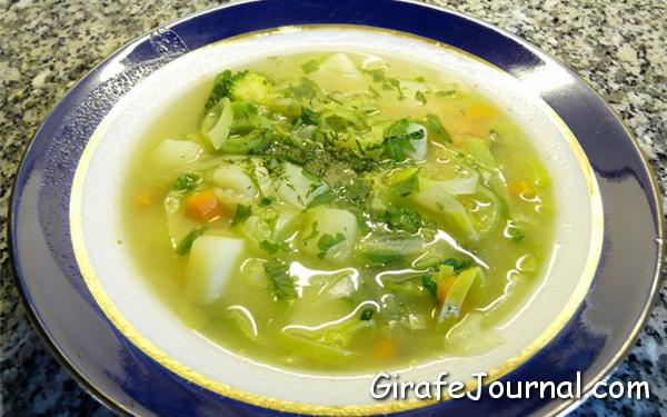 Вегетарианские супы рецепты с фото простые