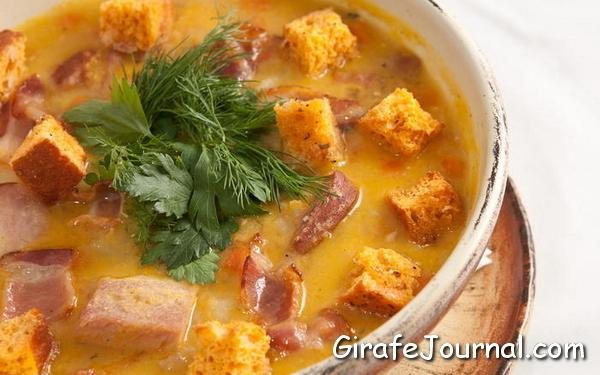 Суп из шампиньонов на мясном бульоне рецепты