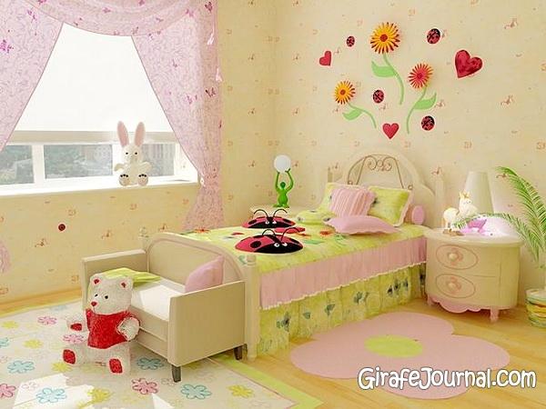 Детские комнаты для девочек фото своими руками