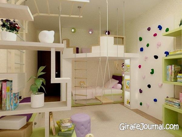 Дизайн интерьера фото детской комнаты