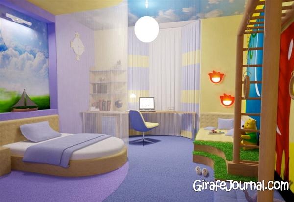 Дизайн дитячих кімнат для хлопчиків
