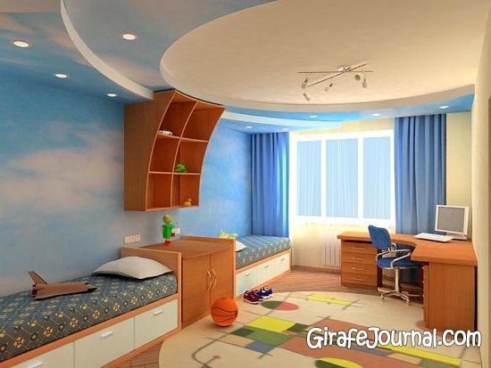 Дизайн дитячих кімнат для різностатевих дітей