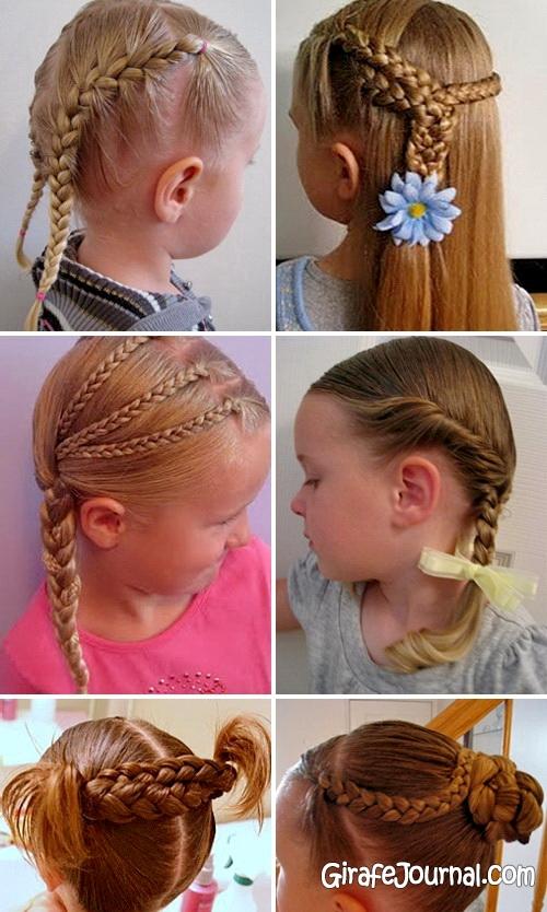 Как делать детские причёски для девочек фото