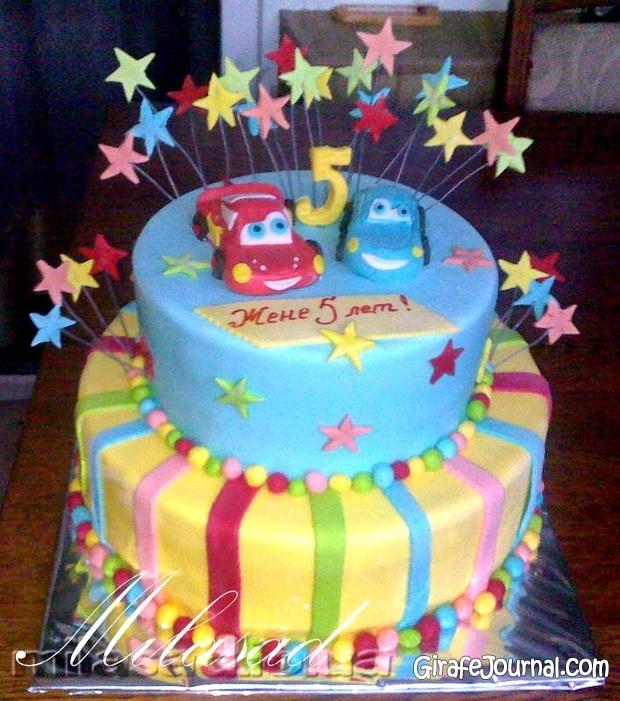 Торт для мальчика 2 года фото своими руками