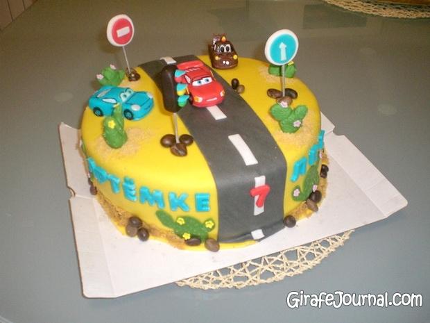 Фото детского торта для мальчика